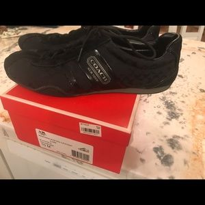 Size 10 Coach Sneakers with box